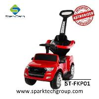 Newest Licensed Ford Ranger Foot To Floor Push Car Battery Motor 3 In 1 Kids Ride On Car (ST-FKP01)