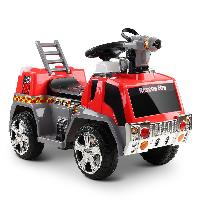 6 Volt Fire Truck Electric Ride on Toy Car For Small Kids (ST-MV119)