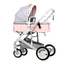 High Quality China Factory Wholesale EN1888 Certificate Aluminum Alloy European Baby Stroller Luxury (SF-S535Q)