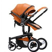 High Quality Factory Direct High-density Steel Lycra Cotton Big Wheel Luxury Baby Stroller (SF-S85UX)
