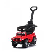 Licensed Jeep Wrangler Rubicon Toy Car Slide Foot to Floor Ride on Push Car for Kids (ST-FKP03B)
