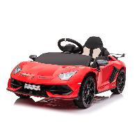 Licensed Lamborghini Aventador SVJ High Quality Scissors Doors Bluetooth Connection Kids Powerful Electric Ride On Car (ST-D2018A)