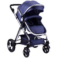 Multi-color Optional Linen Canopy Fabric Aluminum Alloy Baby Stroller 3 in 1 with EN1888 Certificate (SF-S0808A)